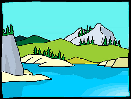 436 x for Disegni di laghi